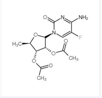 2',3'-Di-O-Acetyl-5'-Deoxy-5-Fluoro Cytidine